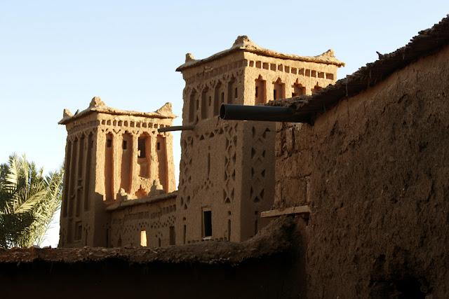 Torre en la Kasbah de Aït Ben Haddou