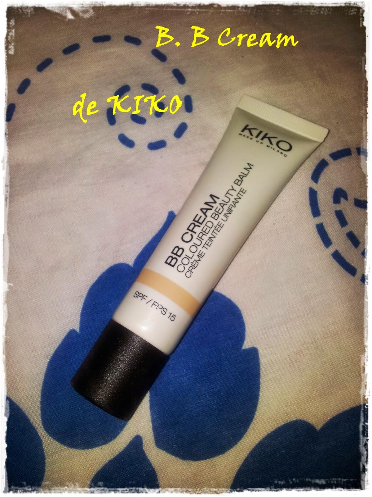 BB Cream de Kiko Make Up Milano