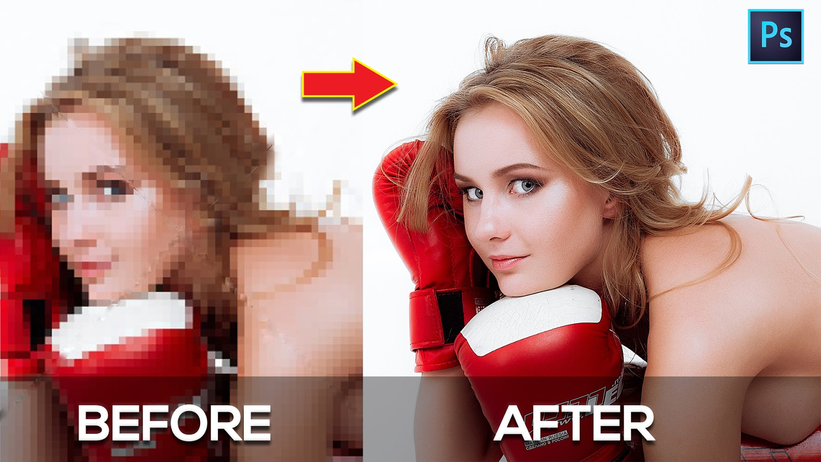 How to Depixelate images And Convert Into High Quality Photo