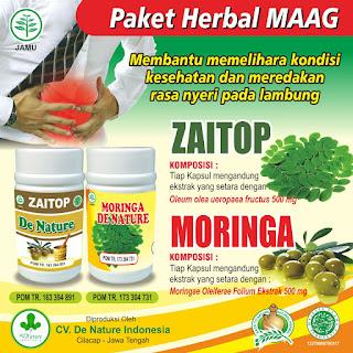 Cara Penggunaan Obat Asam Lambung De Nature Indonesia