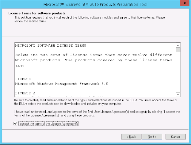 sharepoint 2016 installation step by step