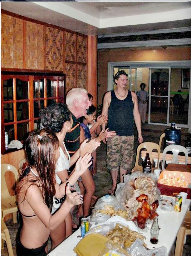 Drew Shobbrook In a Philippines jail.