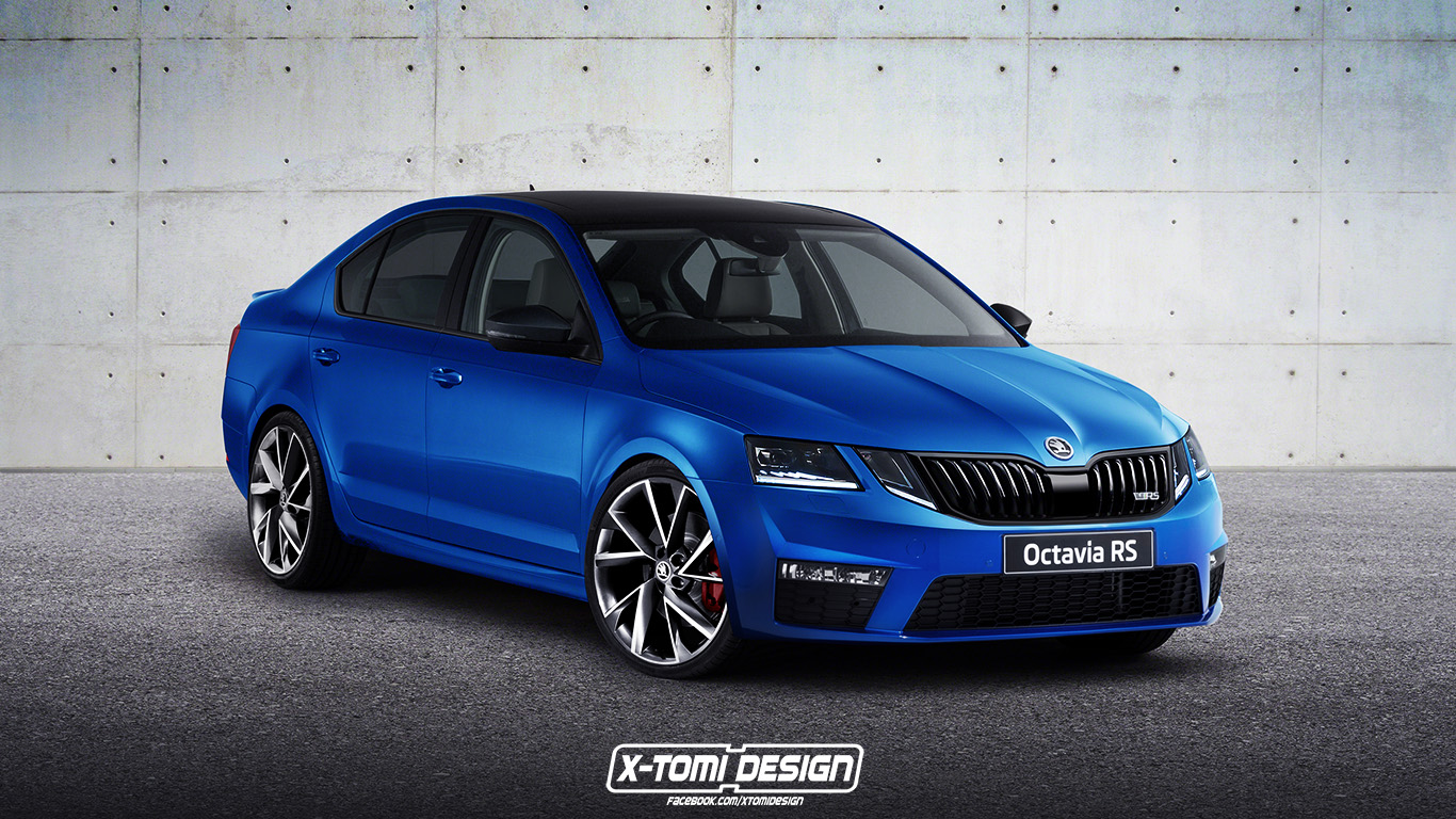 x tomi design skoda octavia rs facelift. Black Bedroom Furniture Sets. Home Design Ideas