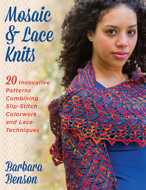 Mosaic and Lace Knits by Barbara Benson