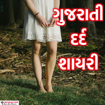 Gujarati dard shayaris