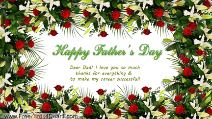 Top Best Father's Day Greetings, Send Fathers Day Cards To Your Dad's: Happy Fathers Day Images 2016