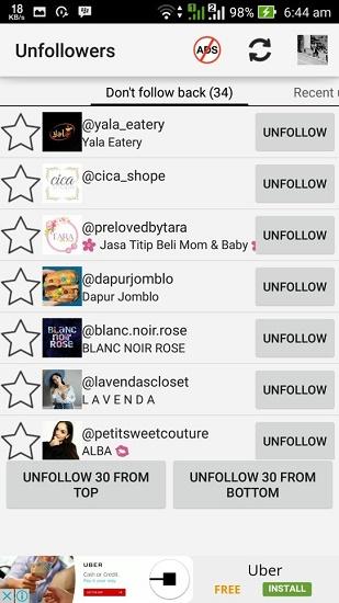 cara mengetahui siapa yang sering melihat instagram kita