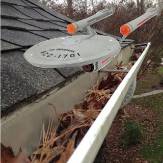 starship enterprise protect gutters