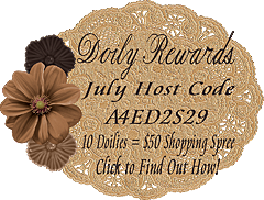 July Doily Rewards Host Code A4ED2S29