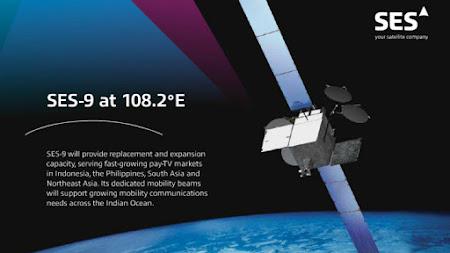 Rencana peluncuran SES 9 Satelit KU Band Terbaru