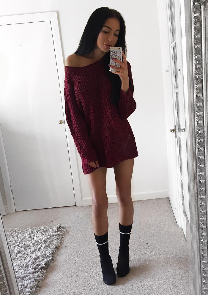 sweater dress weather