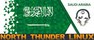 تحميل و تثبيت توزيعة الهكر العربية رعد الشمال North Thunder