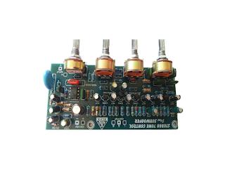 cara memasang master mixer pada tone control