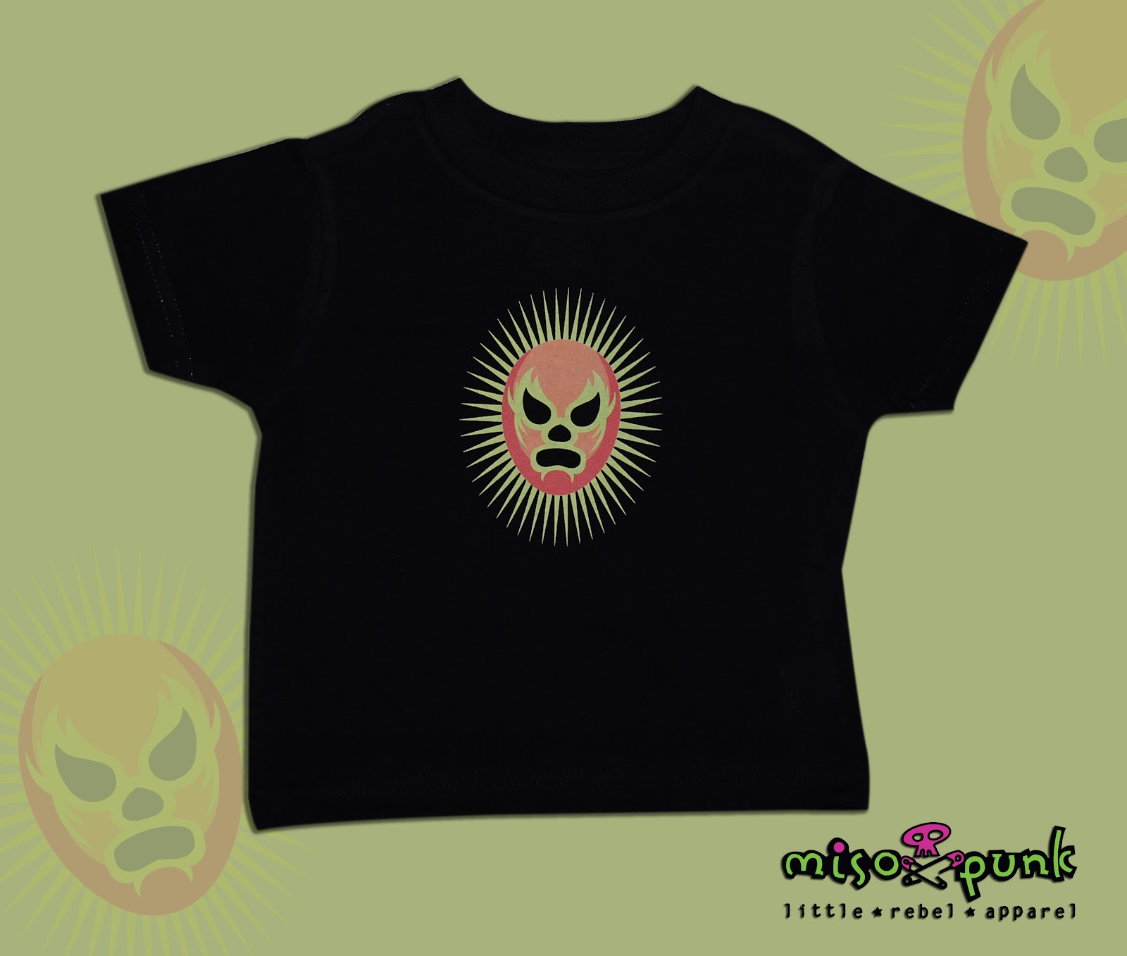 Punk Baby Clothing: Luchador baby!