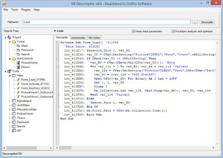 VB Decompiler Pro 10 0 - info komputer kita