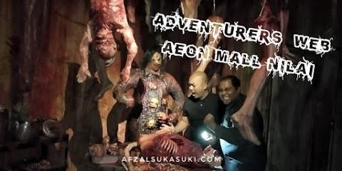 The Adventurers' Web Tarikan Terbaru Di AEON MALL Nilai