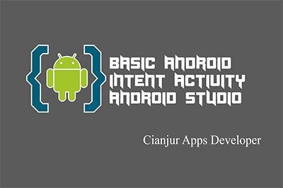 Berikut ini merupakan tutorial penggunaan intent untuk berpindah satu activity ke activity lain, basic tutorial, action, view, startActivity(), activity, java programming, android studio. Dari WILDAN TECHNO ART.