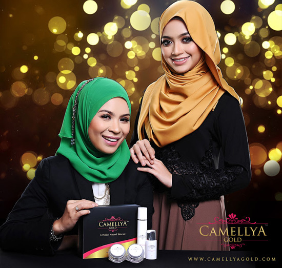 Camellya Gold Skin Care Premium Set