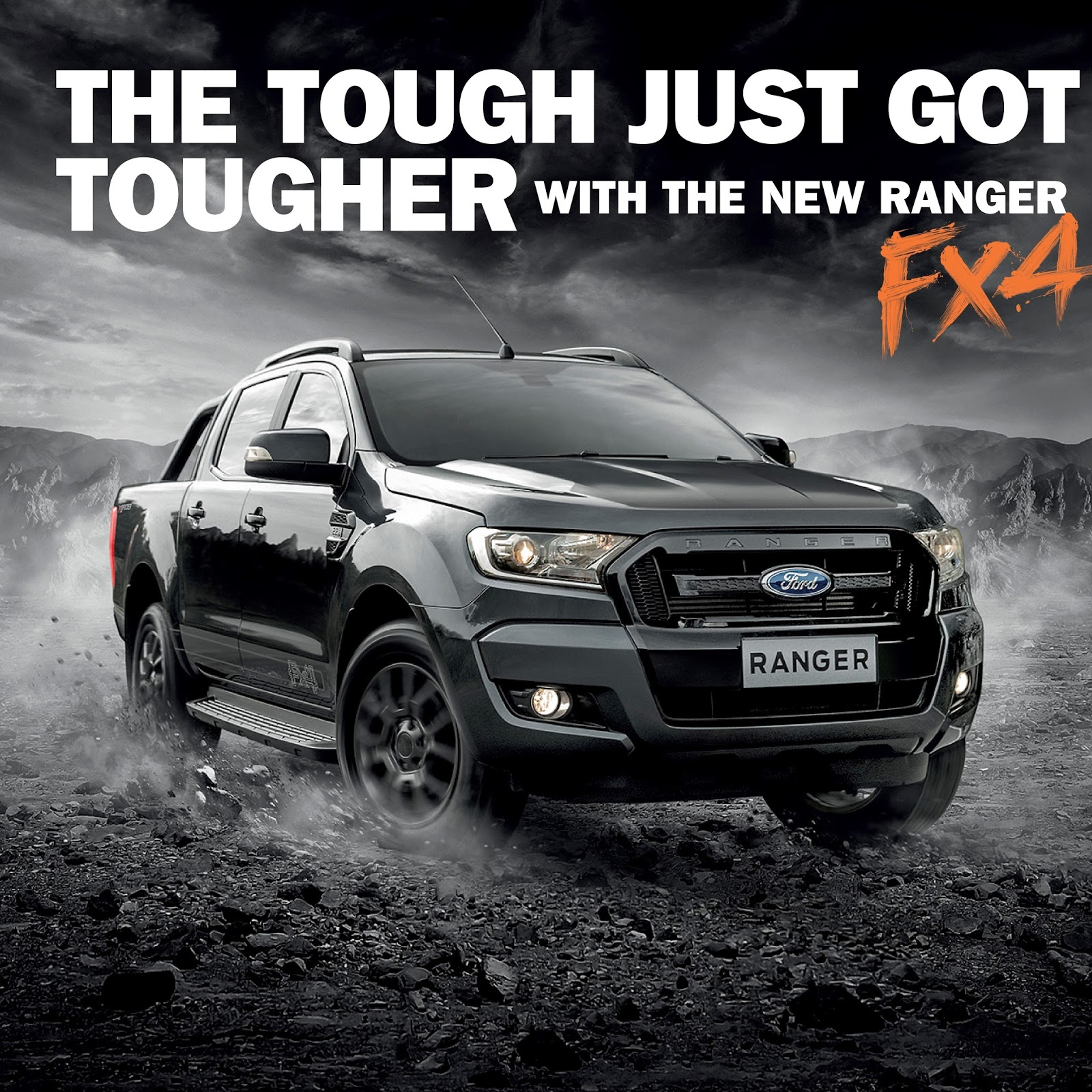 New launches ford ranger fx4 launched in malaysia otr rm122k