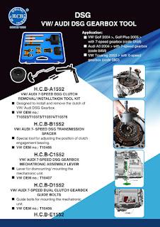 HCB TOOL: H C B-DSG VW/ AUDI DSG GEARBOX TOOL -Auto repair tools