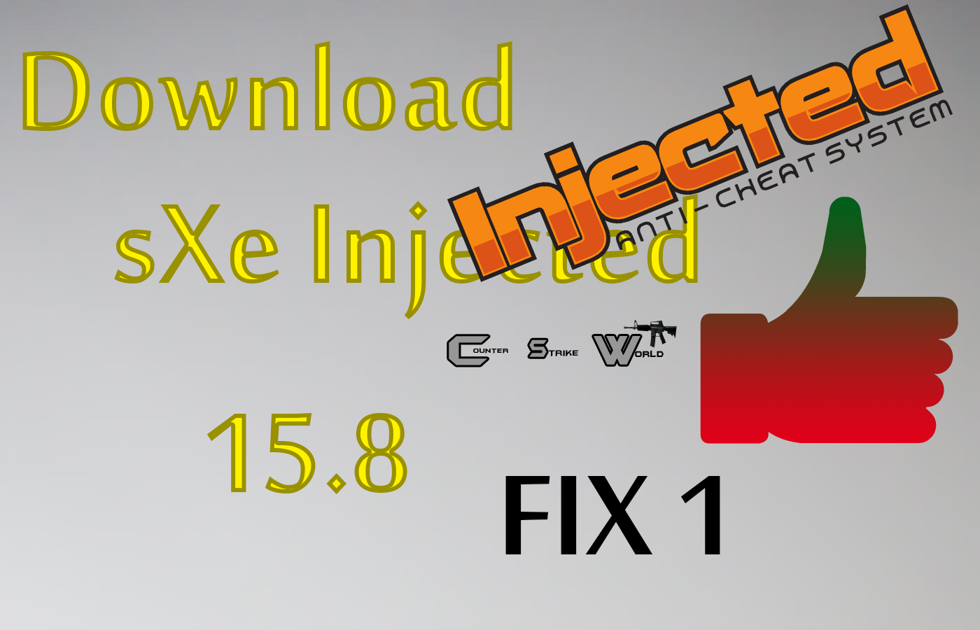 download updated sxe injected 15.8 fix 1 - counter strike world