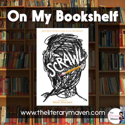 """Scrawl by Mark Shulman is written in a journal format by Tod as he sits in detention with his guidance counselor. He's a """"bad kid"""" who loathes everything about the establishment of school and has quite the humorous way of describing his dislikes to his reader. Read on for more of my review and ideas for classroom application."""