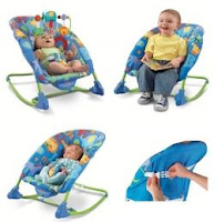 1 Fisher Price Deluxe Infant to Toddler Comfort Rocker