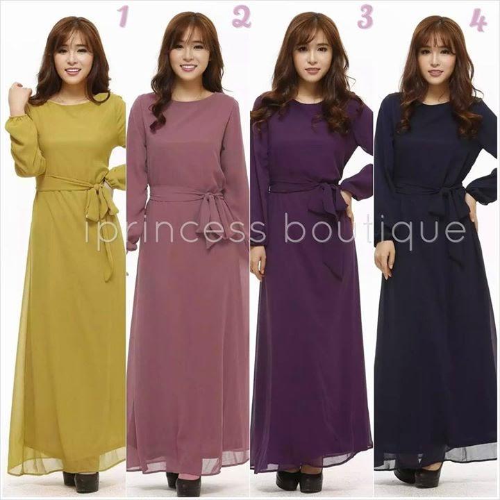 dress muslimah online malaysia 2014