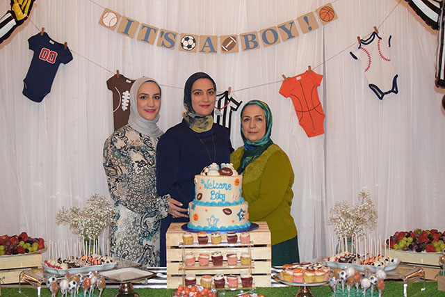 Sports Theme Baby Shower-Party-It's a Boy-Baby Shower-Hijabi Baby Shower
