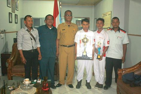 BILLY PRASETYO Juara 1 Teknik sepeda Motor Tingkat Sumatera Utara