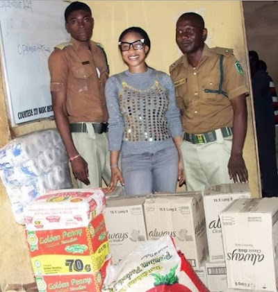 Tonto Dikeh extends her Charities to Prisoners