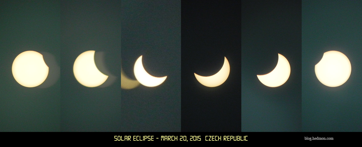 solar eclipse march 20, 2015. Czech Republic