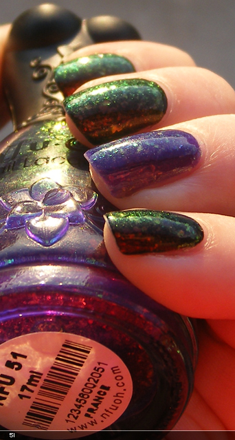 xoxoJen's swatch of Nfu-Oh 51