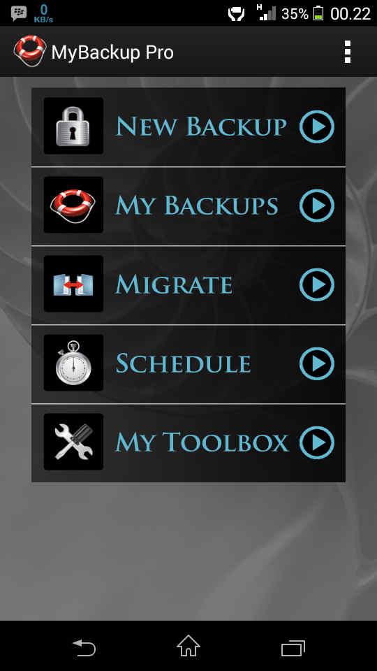 My Backup Pro Apk