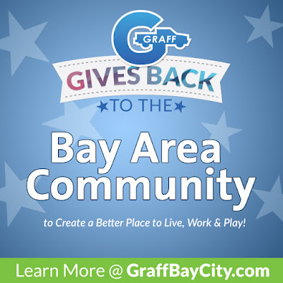 Graff Gives Back to the Bay Area Community this July