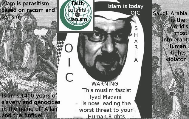 The new Saudi Fuhrer of islamofascist OIC