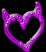 coração de chifre