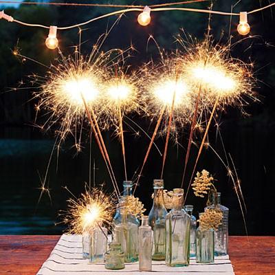 Vip Wedding Sparklers Wedding Sparkler Centerpieces