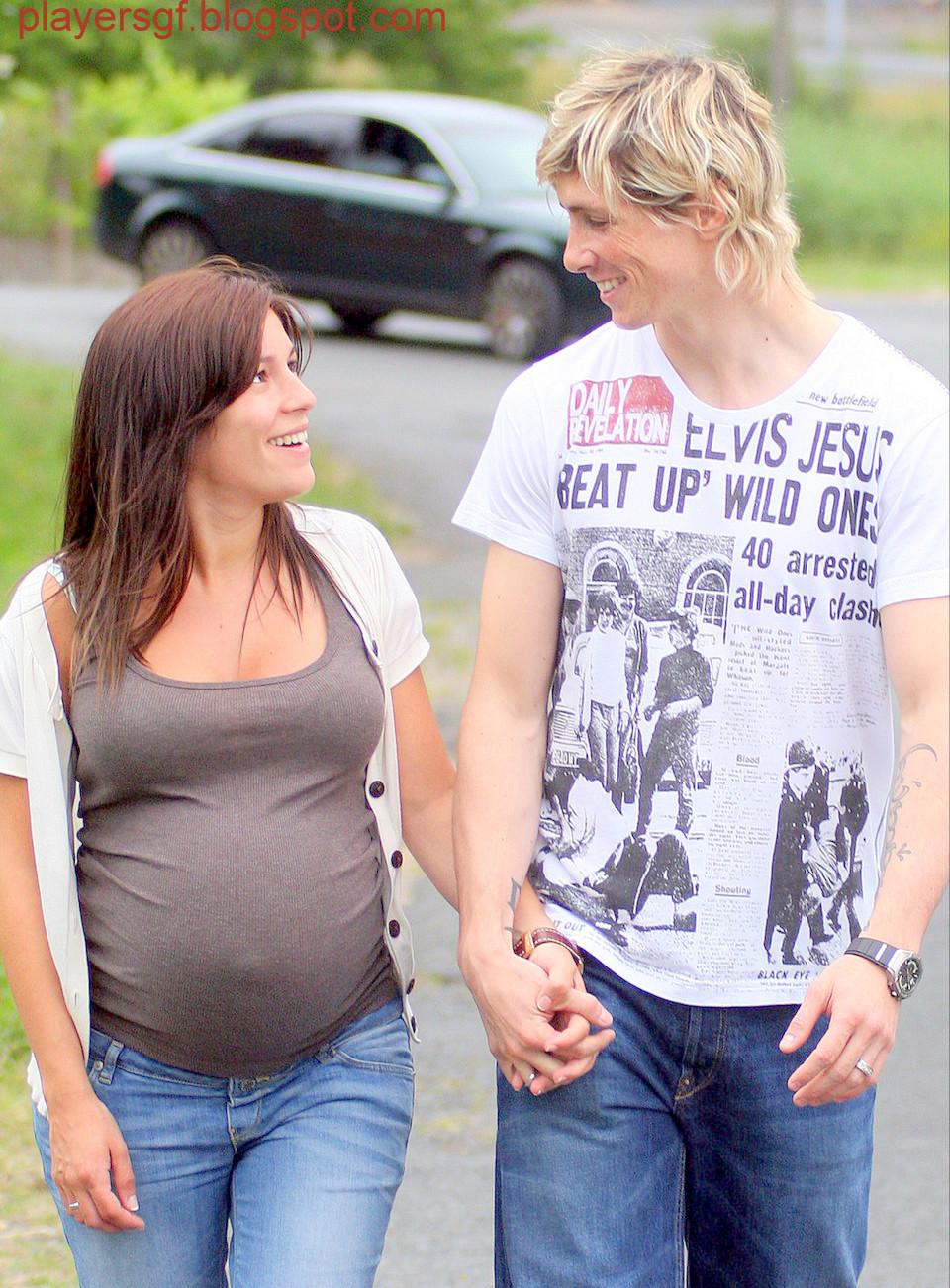 Fernando Torres Wife Olalla Await Babys Arrival X