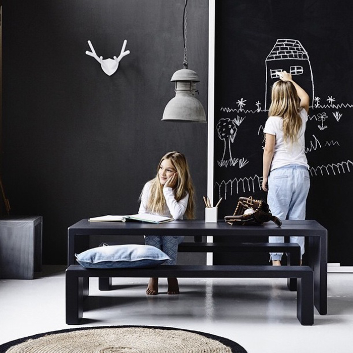 black in children deco