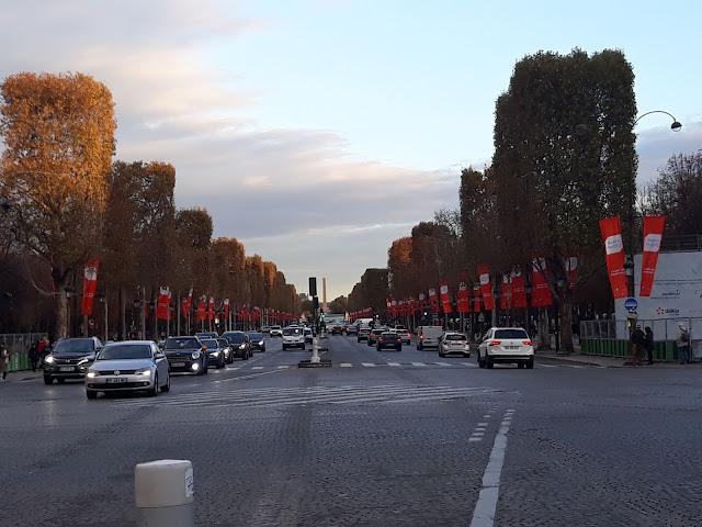 Jelisejska polja - kraj avenije de champs