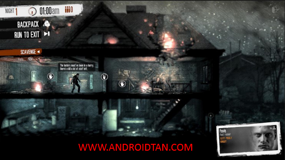 This War of Mine Mod Apk + Data DLC Full Unlocked