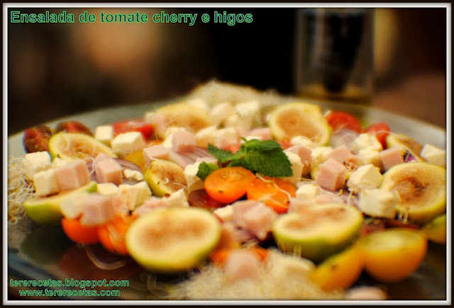 Ensalada de tomate cherry e higos 03