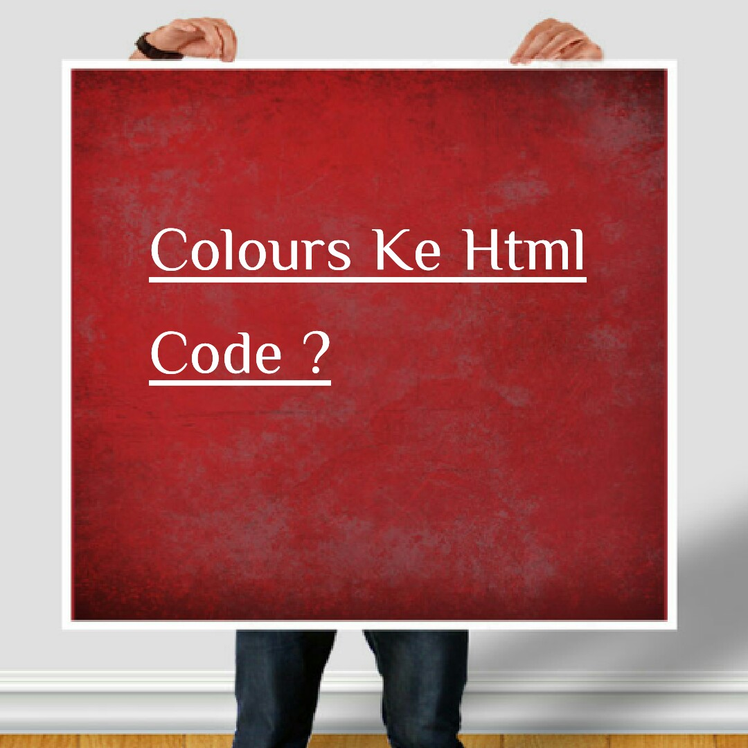 html codes of colour