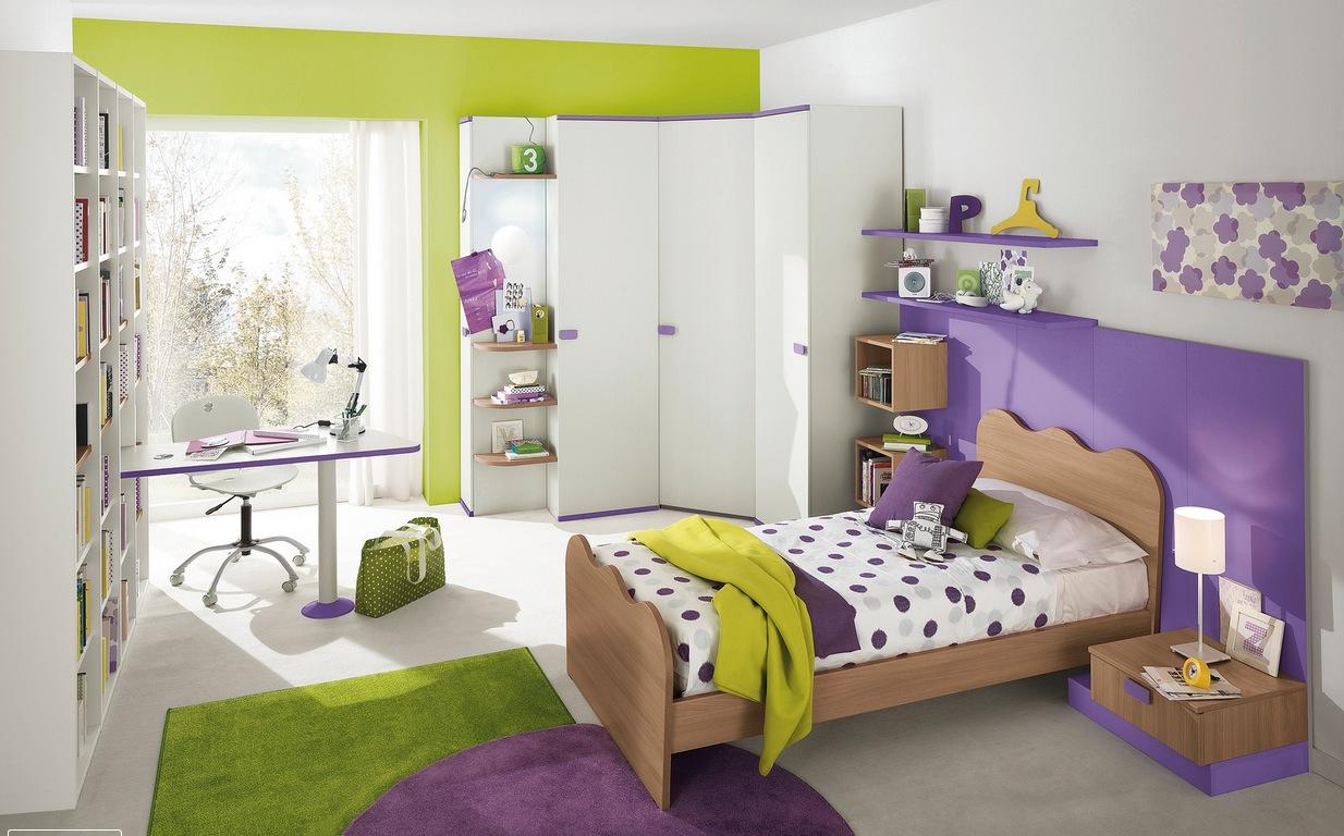 Gris Chambre Ado Fille couleur peinture pour chambre adolescent
