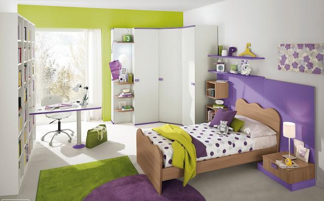 couleur peinture pour chambre adolescent
