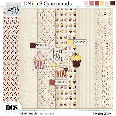 "Free Collab DCS ""Delices Gourmands"""