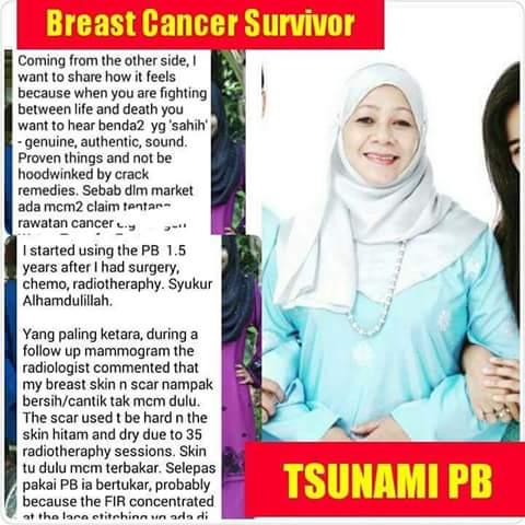 testimoni breast cancer premium beautiful
