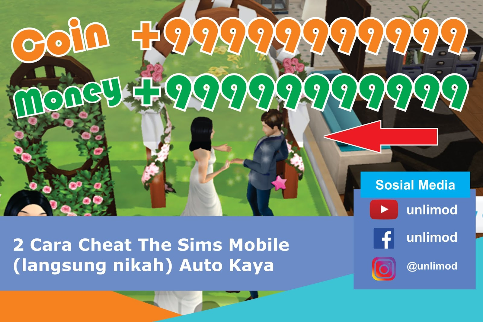 cheat the sims mobile.