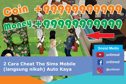 2 Cara Cheat The Sims Mobile (langsung nikah) Auto Kaya